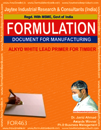 Alkyd white lead primer for timber