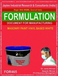 Masonry Paint Vinyl Based White