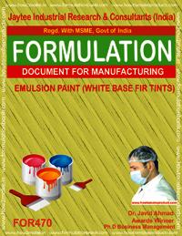 Emulsion paint for tints