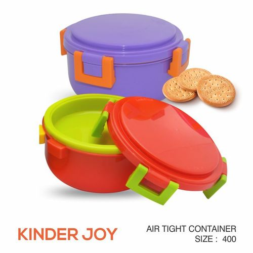 KINDER JOY PLASTIC FOOD CONTAINER