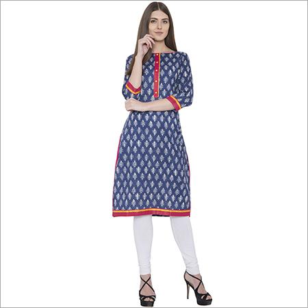 cotton  staright kurti