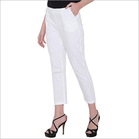 White Staright Pants