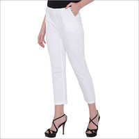 White Staright Pants
