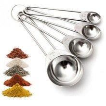 Silver Stainless Steel Measuring Spoon