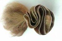 NATURAL BROWN HAIR WEFT