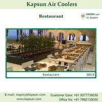 Industrial Commercial Air Cooler Used For Restaurant