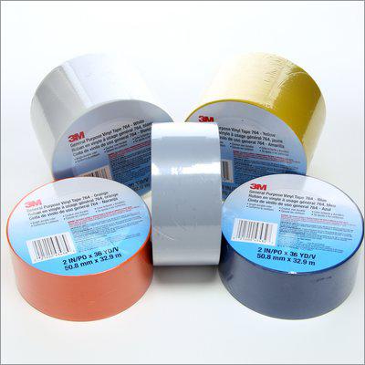 3M Make Vinyl Lane Marking Tape ''Yellow''