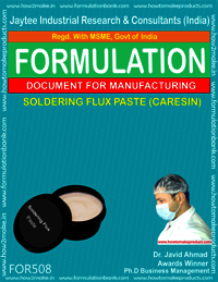 Soldering Flux Paste (Caresin)