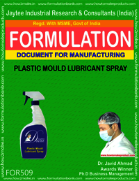 Plastic Mould Lubricant Spray