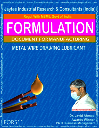 Metal Wire Drawing Lubricant