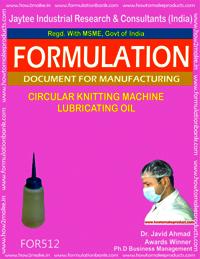 Circular Knitting Machine Lubricating Oil