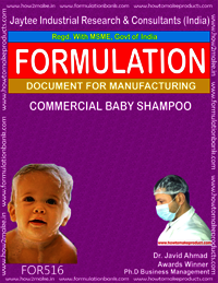 Commercial Baby Shampoo
