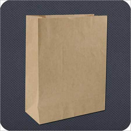 Industrial Paper Bag with Woven Fabric
