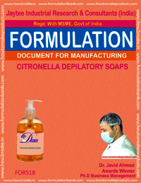 Centronilla Depilatory Soap