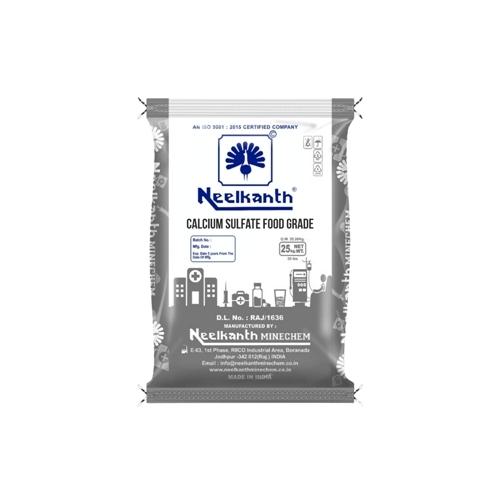 Calcium Sulphate (Food Grade)