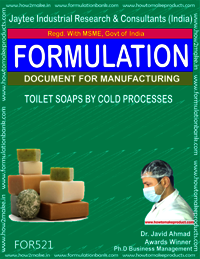 TOILET SOAP BY COLD PROCESS