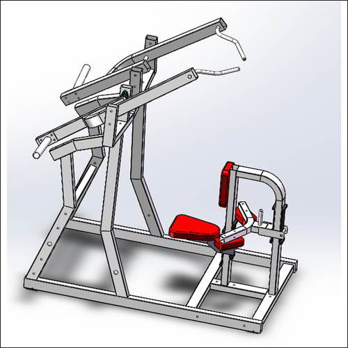 Heavy Metal Exercise Machines