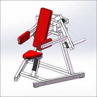 Seated Delt Machine