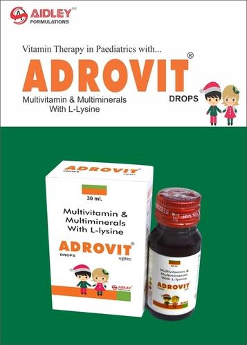 Adrovit Drops (Multivatamin, Multimineral & L-Lysine Drops)