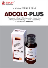 Paracetamol 250mg + Chlorpheniramine Maleate 2mg + Phenylphirine HCI. 5mg + Sodium Citrate 60mg + Menthol 1mg Suspension