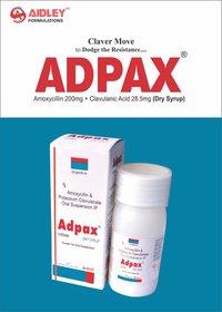 Amoxycillin 200mg + Clavulanic Acid 28.5mg Dry Syrup