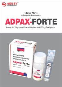 Amoxycillin Trihydrate 400mg + Clavulanic Potassium 57mg Dry Syrup