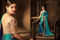 Buy Trendy Designer Silk Sarees