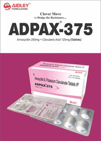 Amoxycillin 250mg + Clavulanic Acid  125mg Tablets