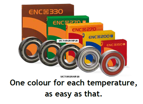 ENC High temperature bearings 330 degree