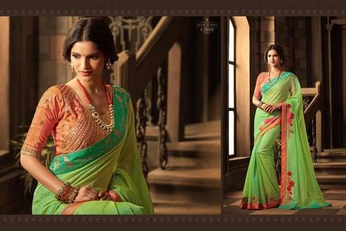 Beautiful Sober Kanchi Silk Saree