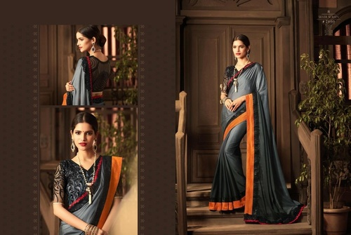 Fancy Blouse Designer Saree