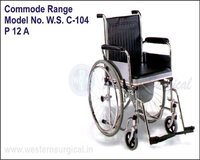 WHEEL CHAIR (COMMODE RANGE)