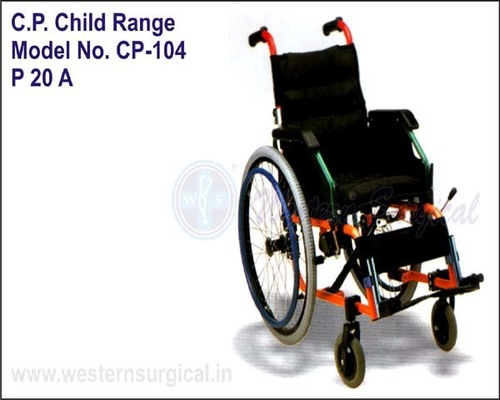 WHEEL CHAIR (C.P. CHILD RANGE)
