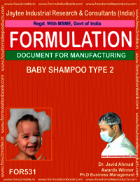Baby Shampoo type 2