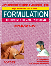 DEPILITARY SOAP
