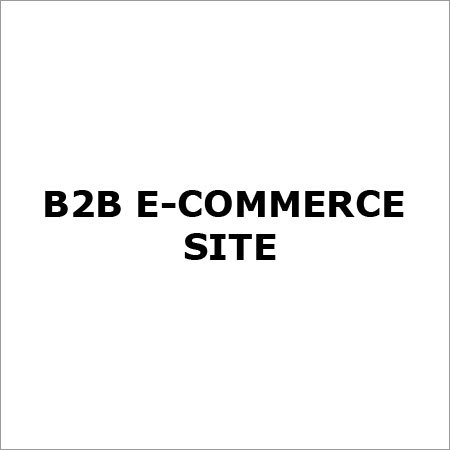 B2b E Commerce Site