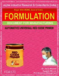 Automotive red oxide zinc chromate primer (baking)