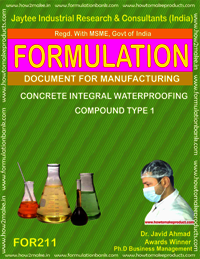 Concrete Integral Waterproofing Compound Type 1