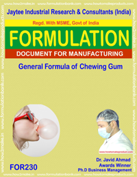 Chewing Gums,Candies Formualtions