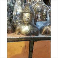 Brass Buddha Head idol