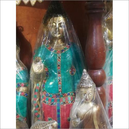 Brass Buddha Stone Statue
