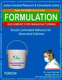 Acrylic Laminated adhesive For Generated Cellolse Making