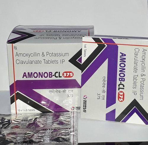 Amoxycillin 250 mg. + Clavulanic Acid 125 mg. Tablets