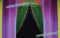 Morrocan Style Wedding Mehndi Stage Umbrella