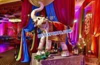 Indian Wedding Entrance Decor Elephant Statue