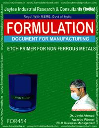 Etch primer for non ferrous metals
