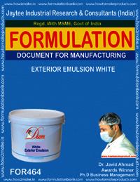 Exterior emulsion white