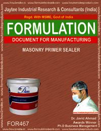 Masonry primer sealer