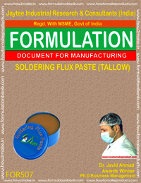 Soldering Flux Paste (Tallow)