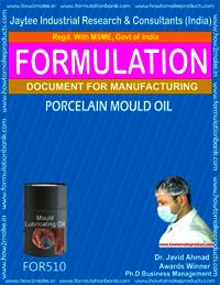 Porcelain Mould Oil